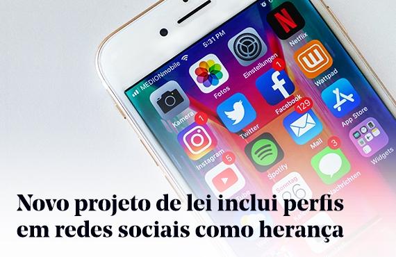 Perfis em redes sociais